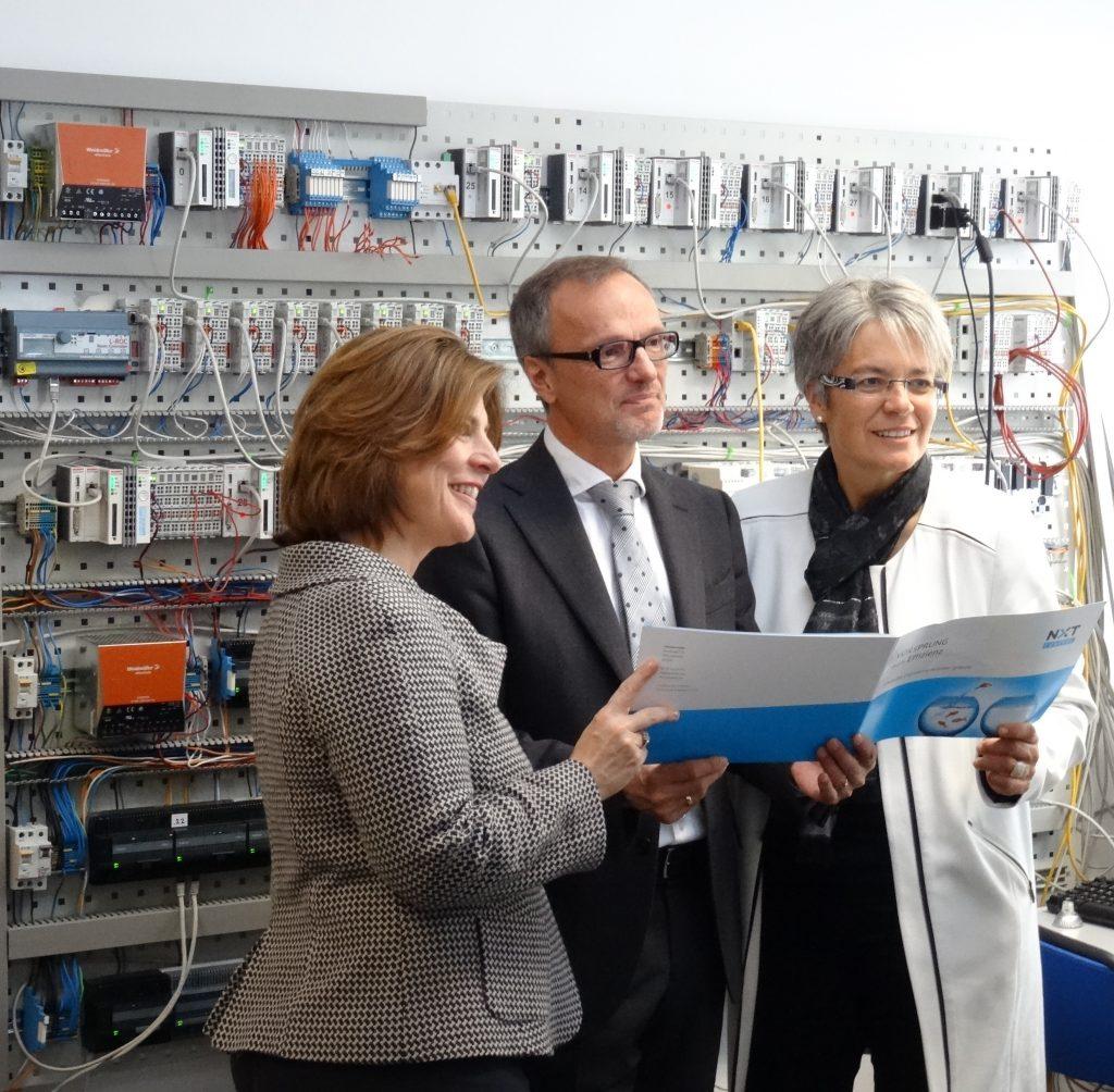 DI Dr. Doris Agneter, Arnold Kopitar, Landesrätin Dr.in Petra Bohuslav