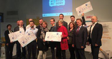 Die erste i2b Start-Up Academy NÖ war ein großer Erfolg!