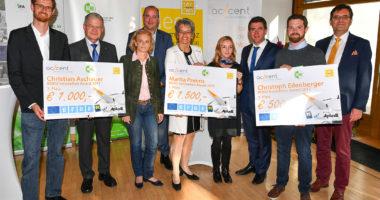 Innovative Ideen beim BOKU-tecnet-accent Innovation Award ausgezeichnet