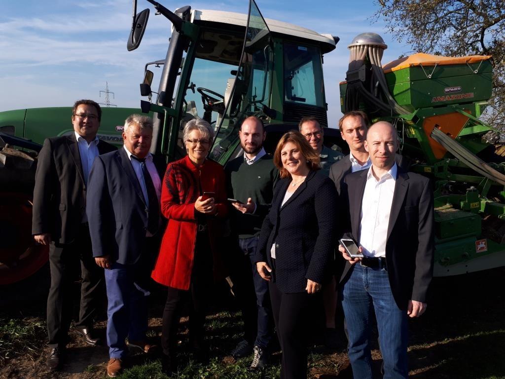 Smart Farming in Wieselburg – die App am Feld