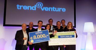 Pixelrunner siegt beim Start-up Wettbewerb trend@venture 2017
