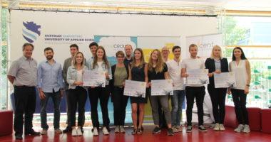 """Team """"YouKnow"""" siegte beim tecnet Pitching Day in Wieselburg"""