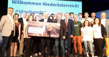MedTech-Startup Saphenus vertritt Niederösterreich im Finale der #glaubandich-Challenge