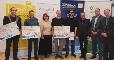 Innovation Award an junge Forscher der BOKU vergeben