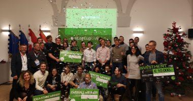 VR Tennis Trainer ist Gesamtsieger des Startup Live St. Pölten