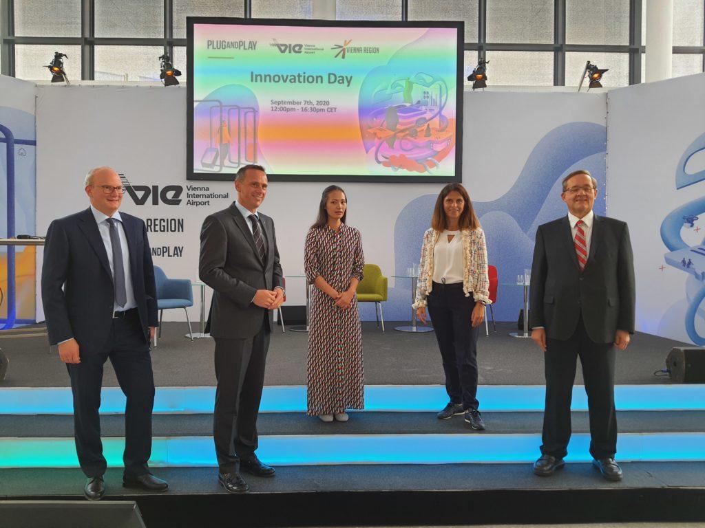 """Innovation pur am Flughafen Wien: Internationale und österreichische Experten präsentierten am 1. """"Innovation Day"""" Strategien für die Zeit nach der Corona-Krise"""