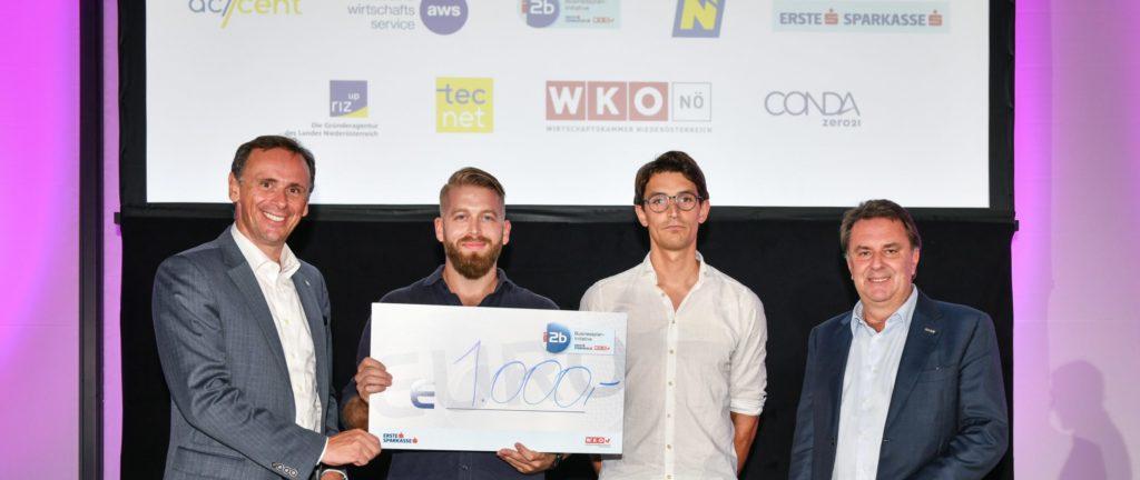 Biolyz als bestes NÖ Startup ausgezeichnet